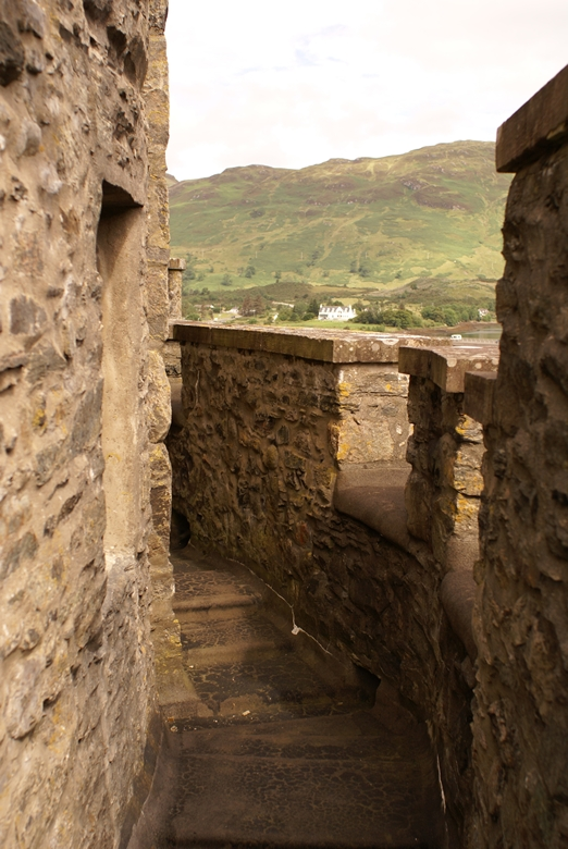 Up on the roof……… | EILEAN DONAN