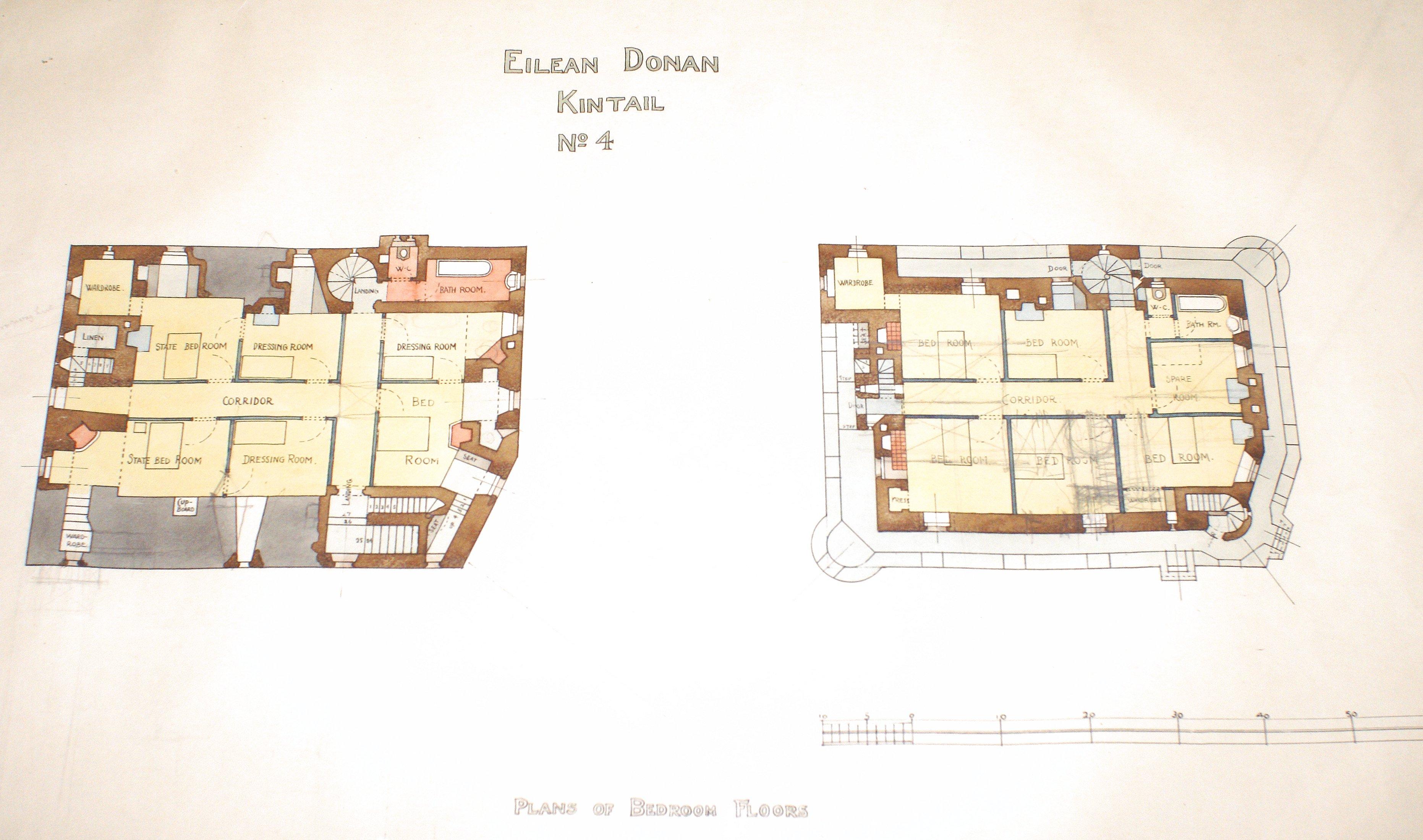 The best laid plans eilean donan for Blueprint design