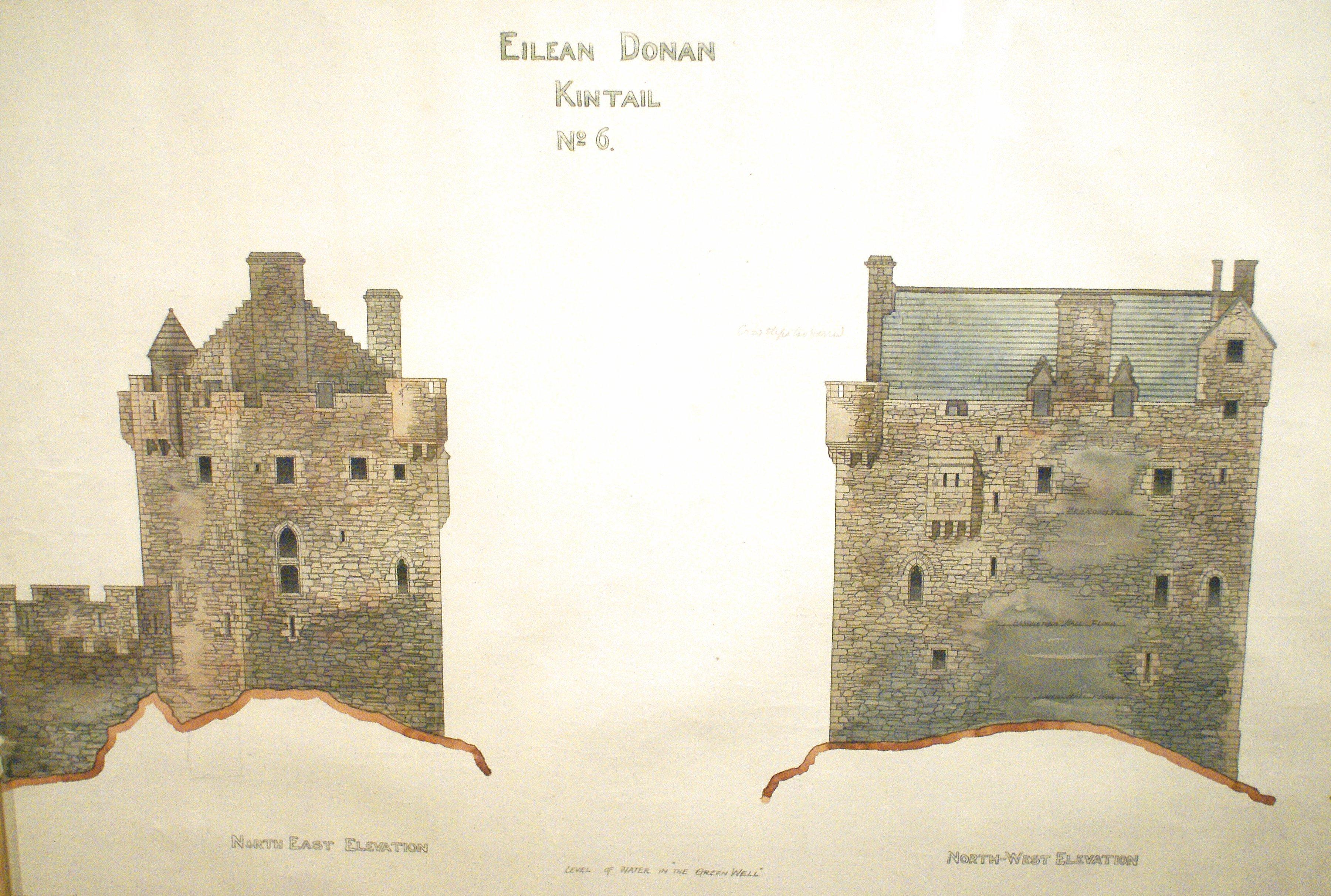 The best laid plans eilean donan for Castle plans